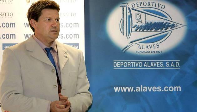 Dimitry Piterman, expresidente del Alavés