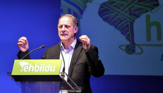 Adolfo Araiz, candidato de Bildu.