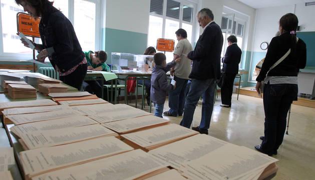 Imagen de las elecciones de 2011.