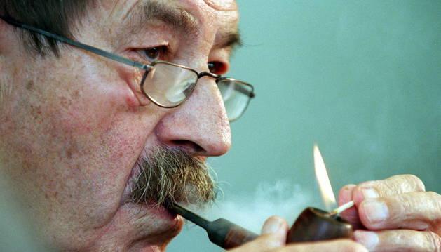 El escritor Günter Grass.