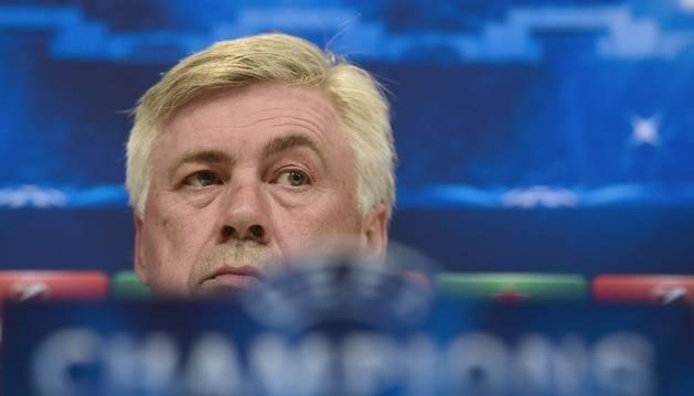 El entrenador, Carlo Ancelotti