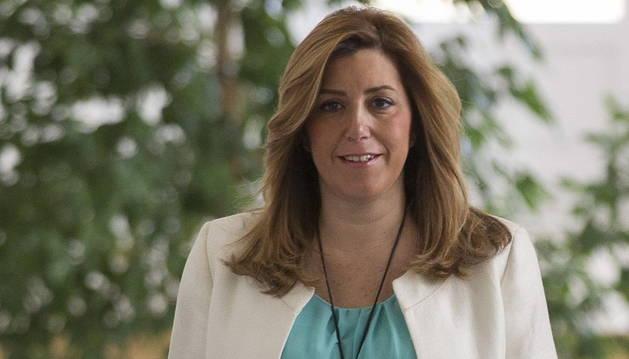 Susana Díaz desoye el llamamiento de González para apoyar a Sánchez