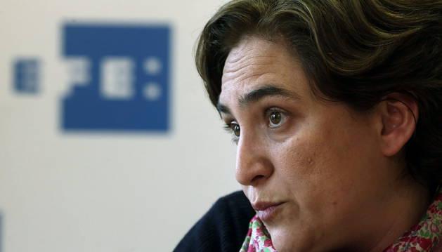 Ada Colau, candidata a la alcaldía de Barcelona por Barcelona en Comú.