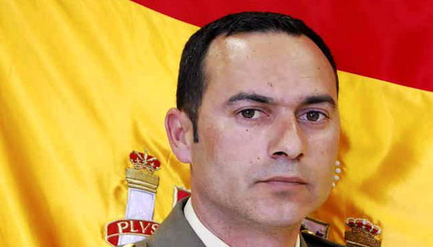 El fallecido cabo Francisco Javier Soria.