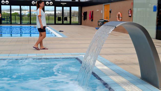 Las instalaciones deportivas, uno de los puntos de mayor consumo de agua de la localidad ribera.