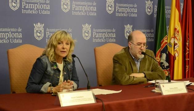 María Caballero y Carlos Albillo