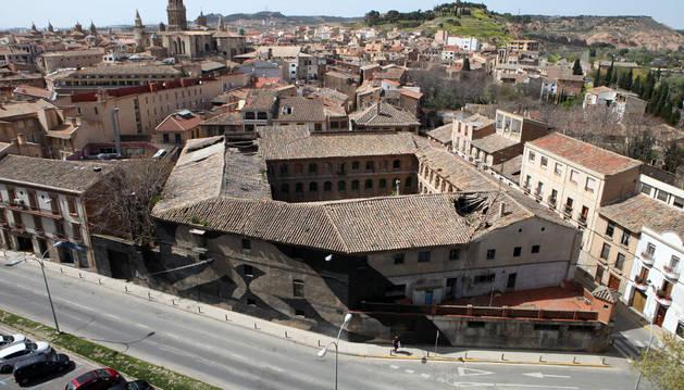 El edificio de Sementales.