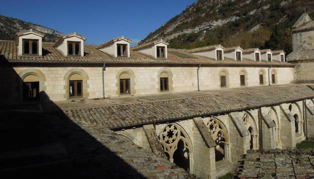 Buhardillas en el monasterio de Iranzu.