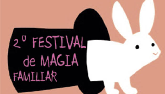 Cartel del festival de magia.