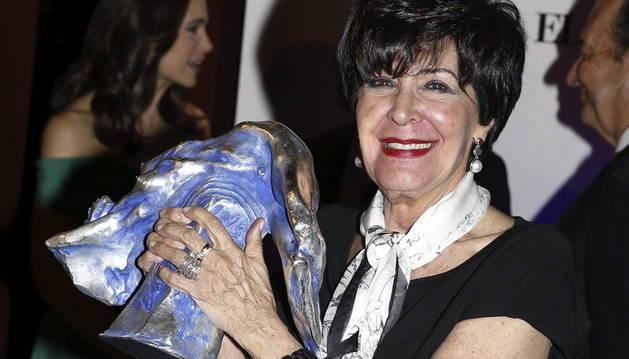 Concha Velasco, galardonada con el Valle-Inclán de teatro.