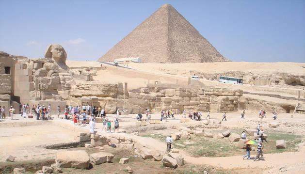 Un arquitecto descifra enigmas de la Gran Pirámide de Keops