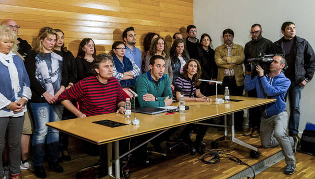Los miembros de Podemos La Rioja que han sido destituidos de los órganos del partido.