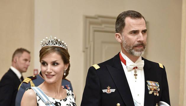 Cena de gala del cumpleaños de la reina Margarita de Dinamarca