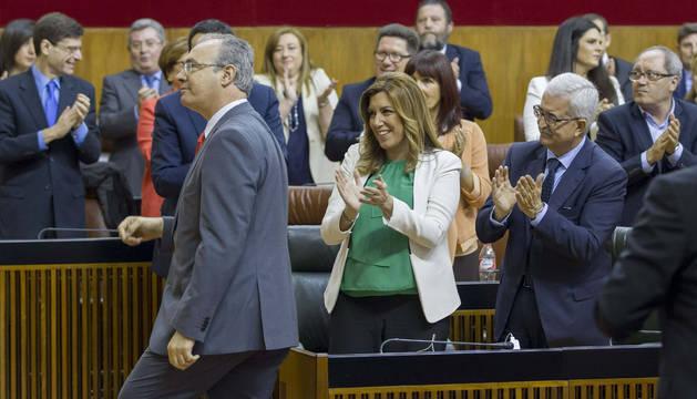El socialista Juan Pablo Durán presidirá el Parlamento de Andalucía