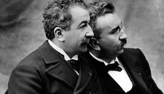 Fotografía de los hermanos Lumiére.