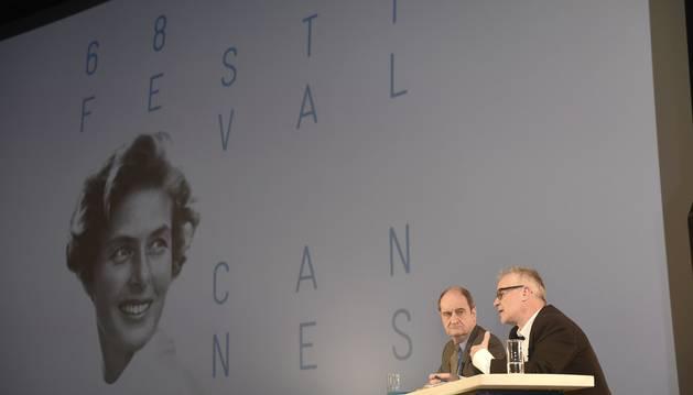 Presentación del Festival de Cannes.