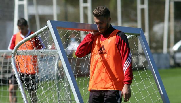 Roberto Torres, en Tajonar.