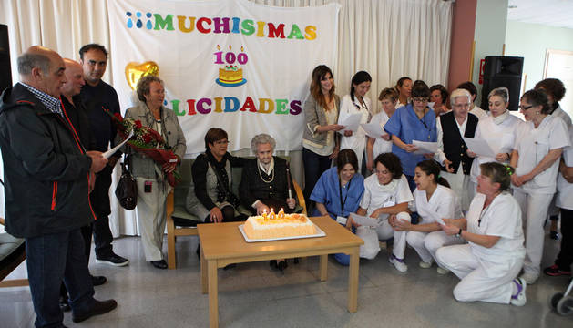 Engracia Martínez celebra sus 100 años