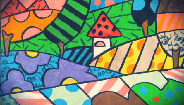 La Casa de la Juventud acoge la muestra 'Colores' de la Fundación Atena
