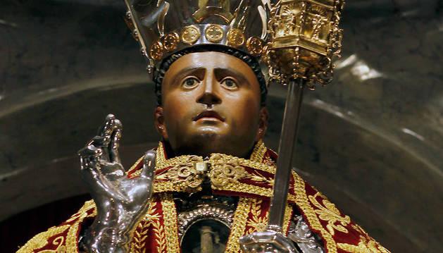 Imagen de la capilla de San Fermín.