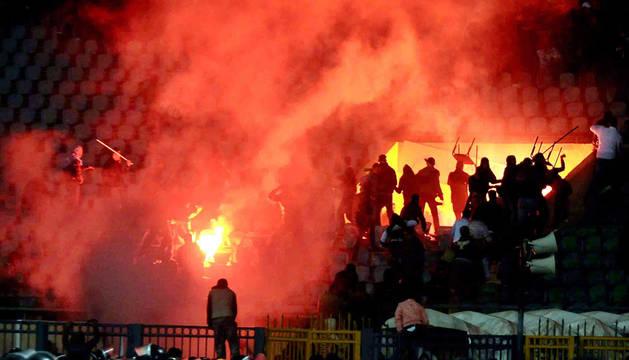 Condenados a muerte 11 egipcios por disturbios en un partido de fútbol