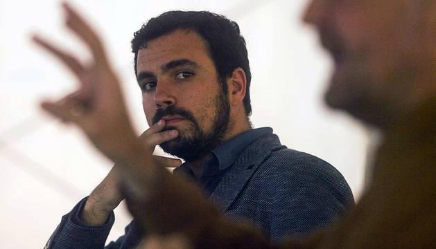Alberto Garzón, en Córdoba.