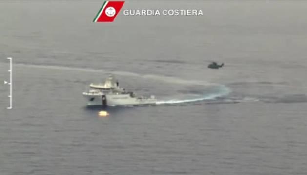Infructuosa búsqueda de los inmigrantes que naufragaron en las costas de Libia