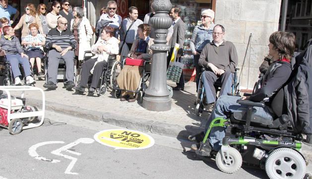 Sensibilización sobre el buen uso de aparcamiento para discapacitados