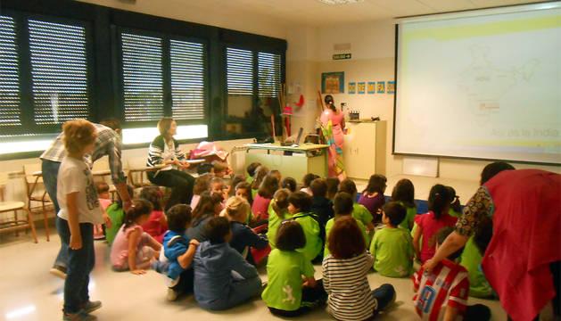 Charla impartida el pasado año en el colegio público Huertas Mayores.