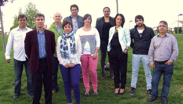 Cristina Ros es la candidata del PSN a la alcaldía de Castejón