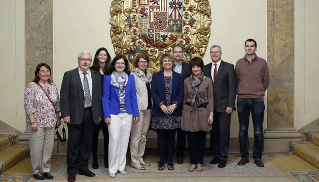 Recibidos empresarios y la Cámara de Comercio e Industria de Hannover