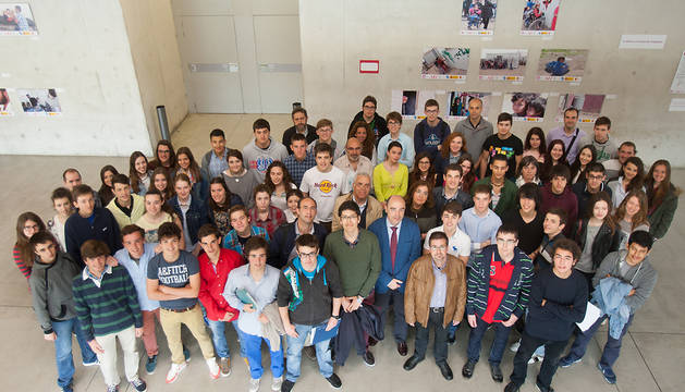 Los participantes en la Olimpiada de Historia.