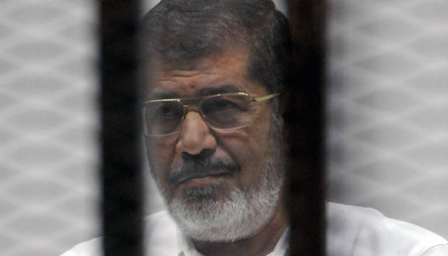 Fotografía de archivo fechada el 5 de noviembre de 2014 del expresidente egipcio Mohamed Mursi.
