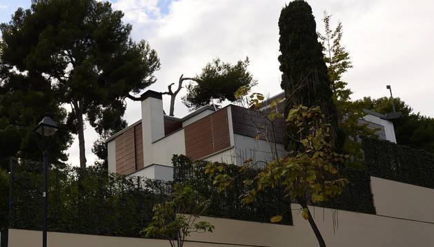 El palacete de Pedralbes.