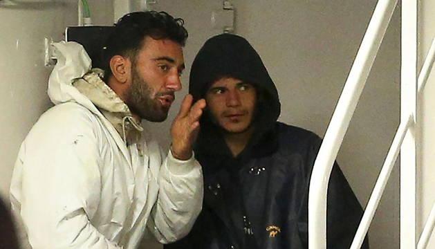 Mohamed Ali Malek y Mahmud Bikhit.