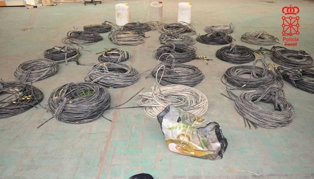 Dos detenidos por robar cableado eléctrico valorado en 4.300 euros