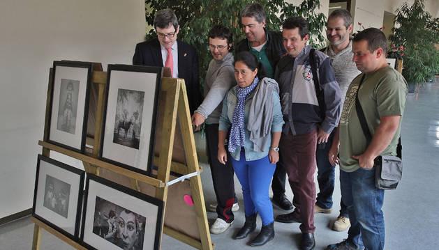 La Comparsa de Gigantes y el CP Muñoz Garde comparten imágenes