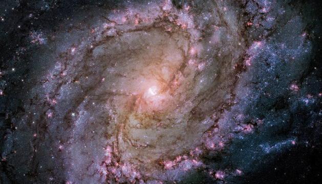 Una de las imágenes del telescopio Hubble.