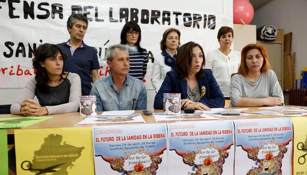El futuro de la sanidad de la Ribera, a debate en Tudela