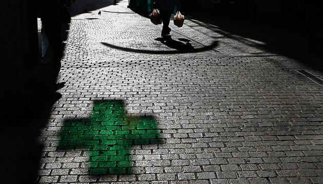 El acusado atracó cuatro farmacias en Pamplona.