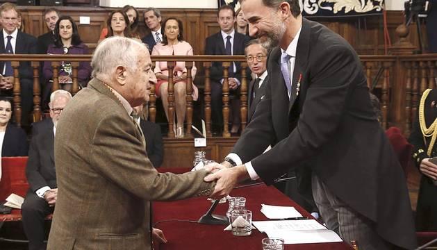 Entrega del Premio Cervantes 2015