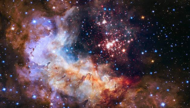 Una imagen del telescopio Hubble.