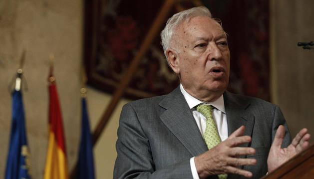 El ministro de Asuntos Exteriores, García-Margallo.