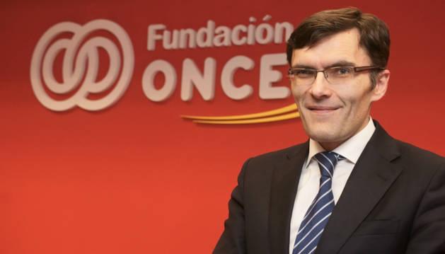 Alberto Durán, vicepresidente ejecutivo de Fundación ONCE.