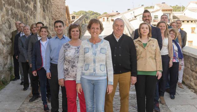 Las caras de UPN para la cita de mayo