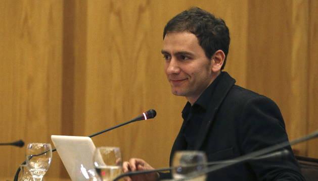 Martí Manen, comisario del pabellón de España en la Bienal de Venecia.