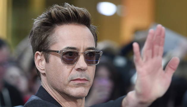 El actor estadounidense Robert Downey jr.