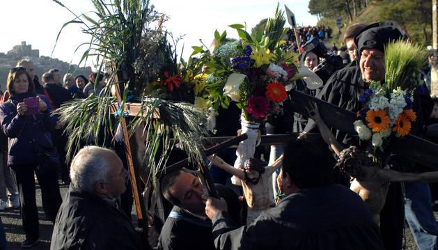 Ujué se prepara para albergar el domingo la romería más concurrida