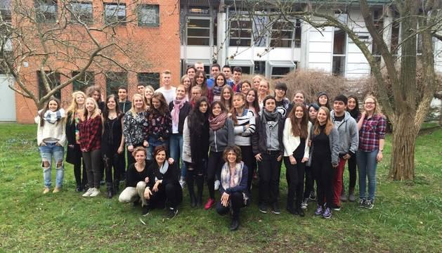 El aprendizaje de inglés une a Estella y Dinamarca