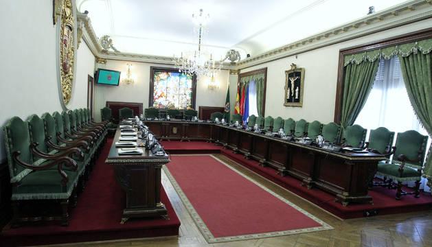 Pamplona aprobará el  reglamento orgánico del pleno en la penúltima sesión
